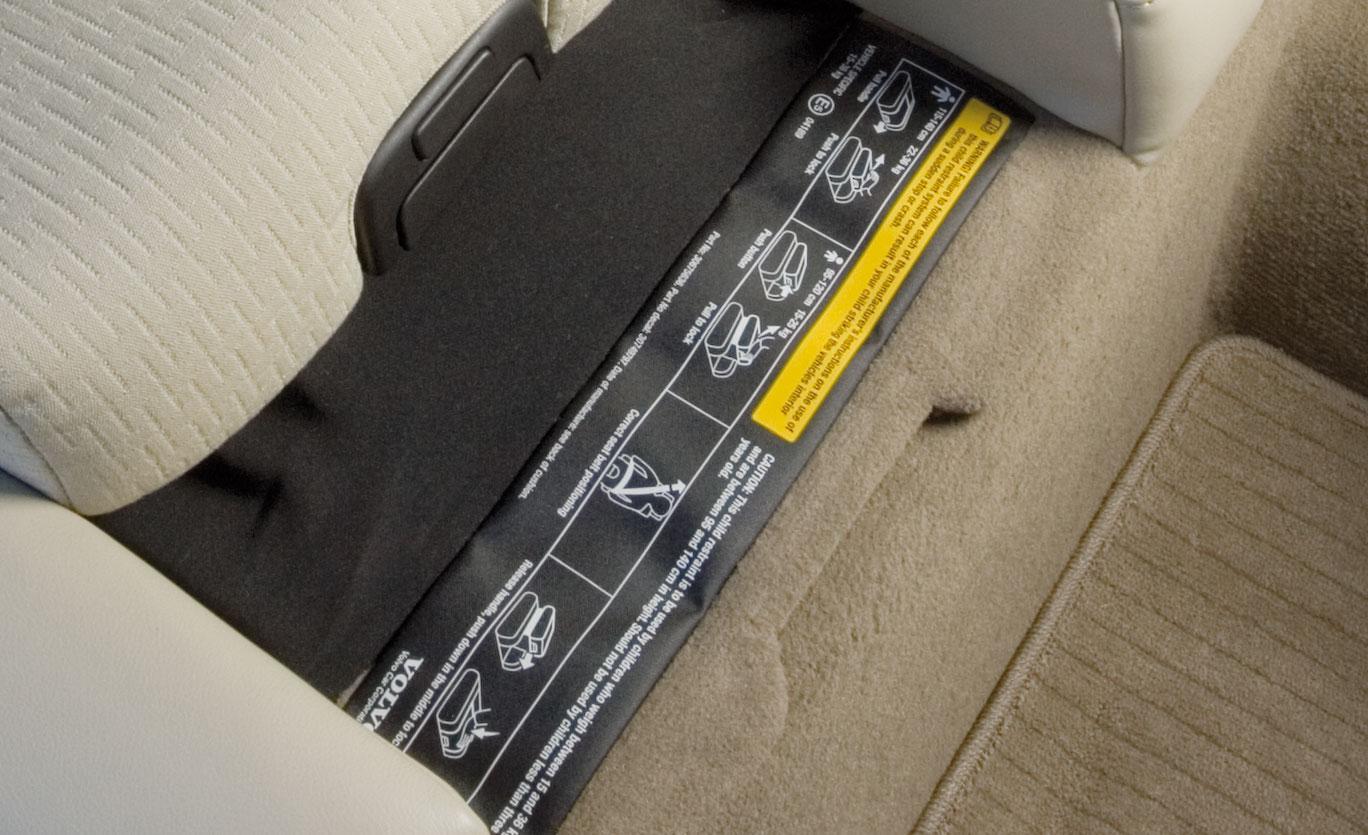 Volvos integrerade barnstol