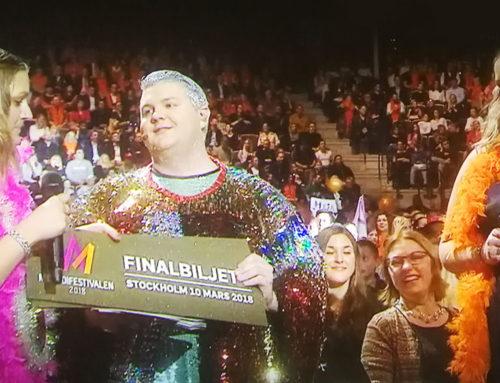 Graphoteket i final i Melodifestivalen!