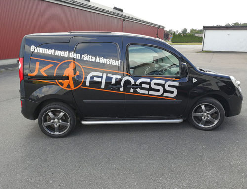 Dekor till JK Fitness bil